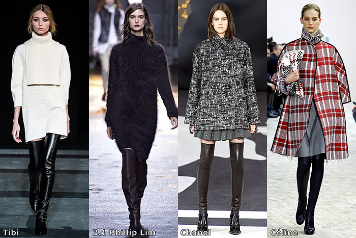 fall 2013 fashion trend, over-the-knee boots