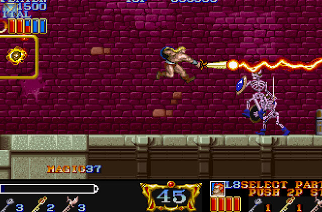 Magic Sword Stair 45 Screenshot