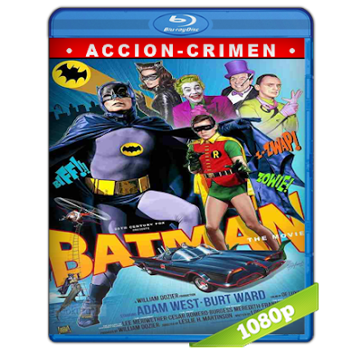 Batman (1966) BRRip Full 1080p Audio Trial Latino-Castellano-Ingles 5.1