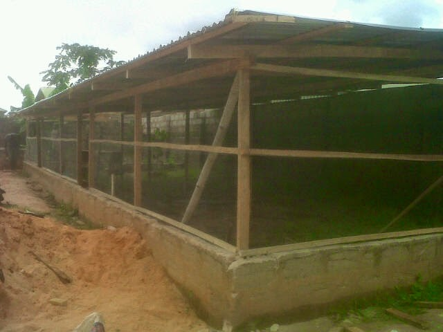 Here are some pictures of battery cages and poultry pen house designs ...