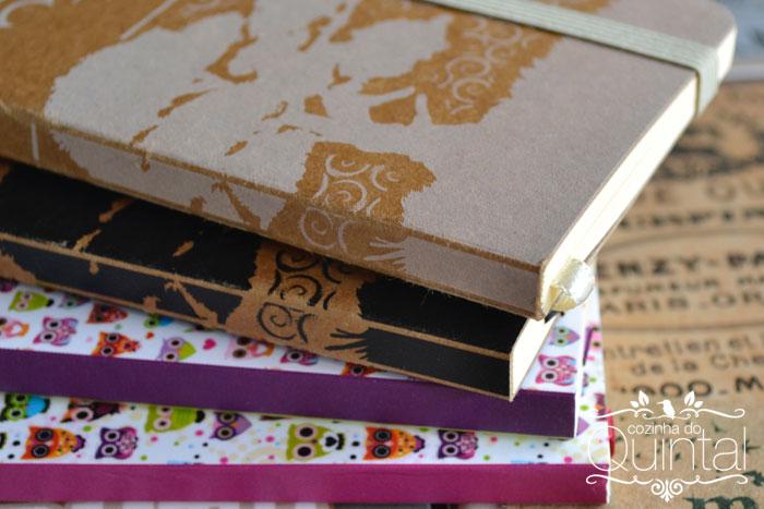 Cadernos Moleco na Cozinha do Quintal