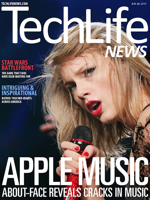 Singer, Actress @ Taylor Swift - Techlife News Magazine, June 2015