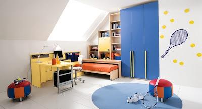 Erkek+Yatak+odas%25C4%25B1+dekorasyon+fikirleri Erkek Çocuk Yatak Odası Modelleri