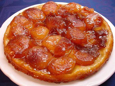 ... una receta clasica de la gastronomía francesa, la Tarte Tatin
