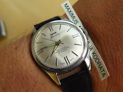 HMT JANATA MILITARY SILVER DIAL - MANUAL WINDING