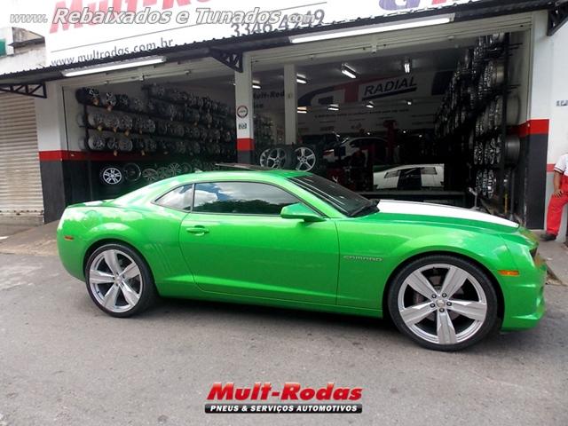 Camaro verde