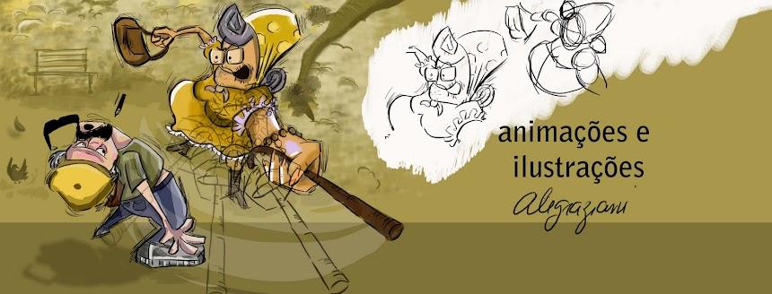 Ilustrações e animações Alegraziani