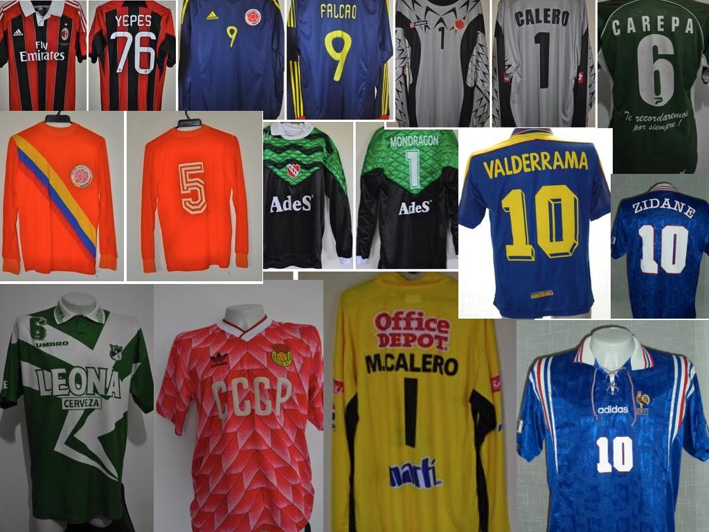 La Mirada De Un Coleccionista : Colecciones de camisetas de fútbol ...