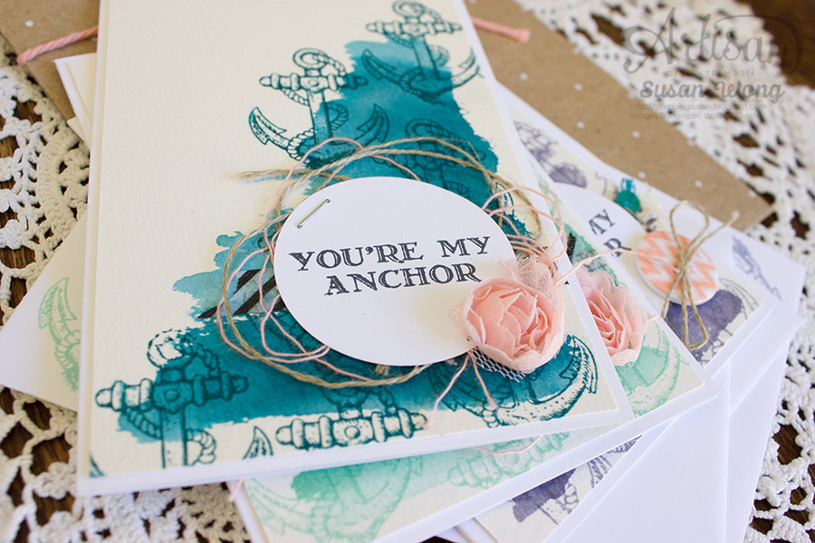 Guy Greetings 'You're My Anchor' Gift Set (detail) ~ Susan Wong