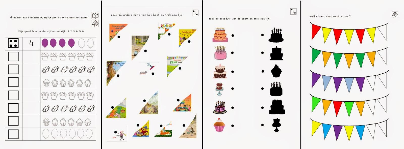 Miranda S Lesmaterialen Feest Kinderboekenweek 2014
