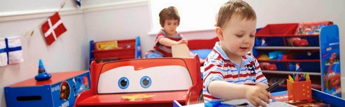 Dormitorio infantil para que los niños disfruten