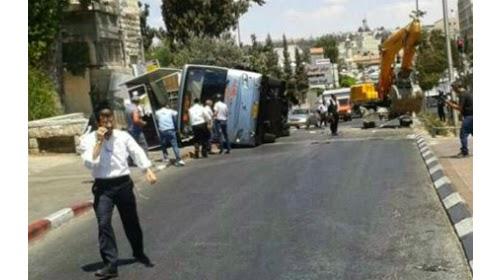 Gázolásos merénylet Jeruzsálemben,-Ötgyerekes rabbi az áldozat