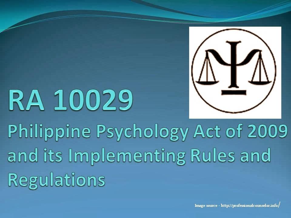 Republic Act (RA) 10029: