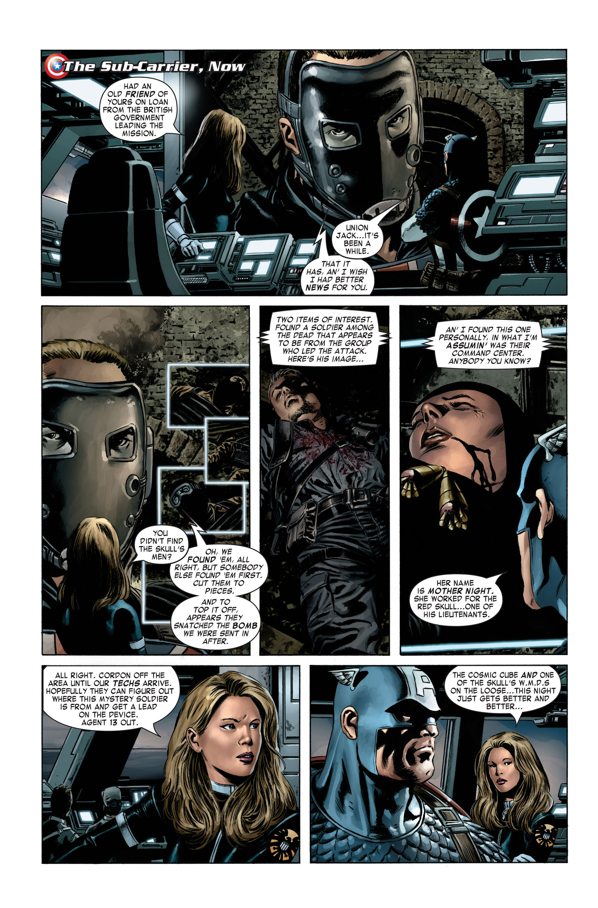 Captain America (2005) Issue #3 #3 - English 9