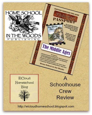 TOS Review Crew - Home School In The Woods Project Passport The Middle Ages