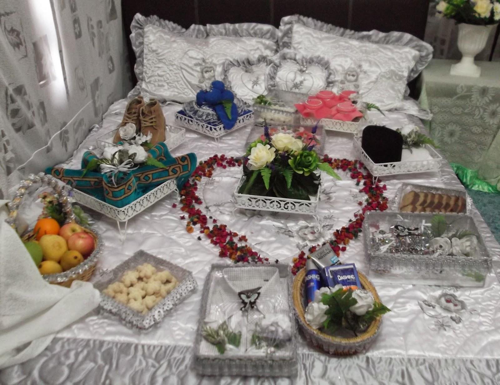 Pelbagai gubahan perkahwinan