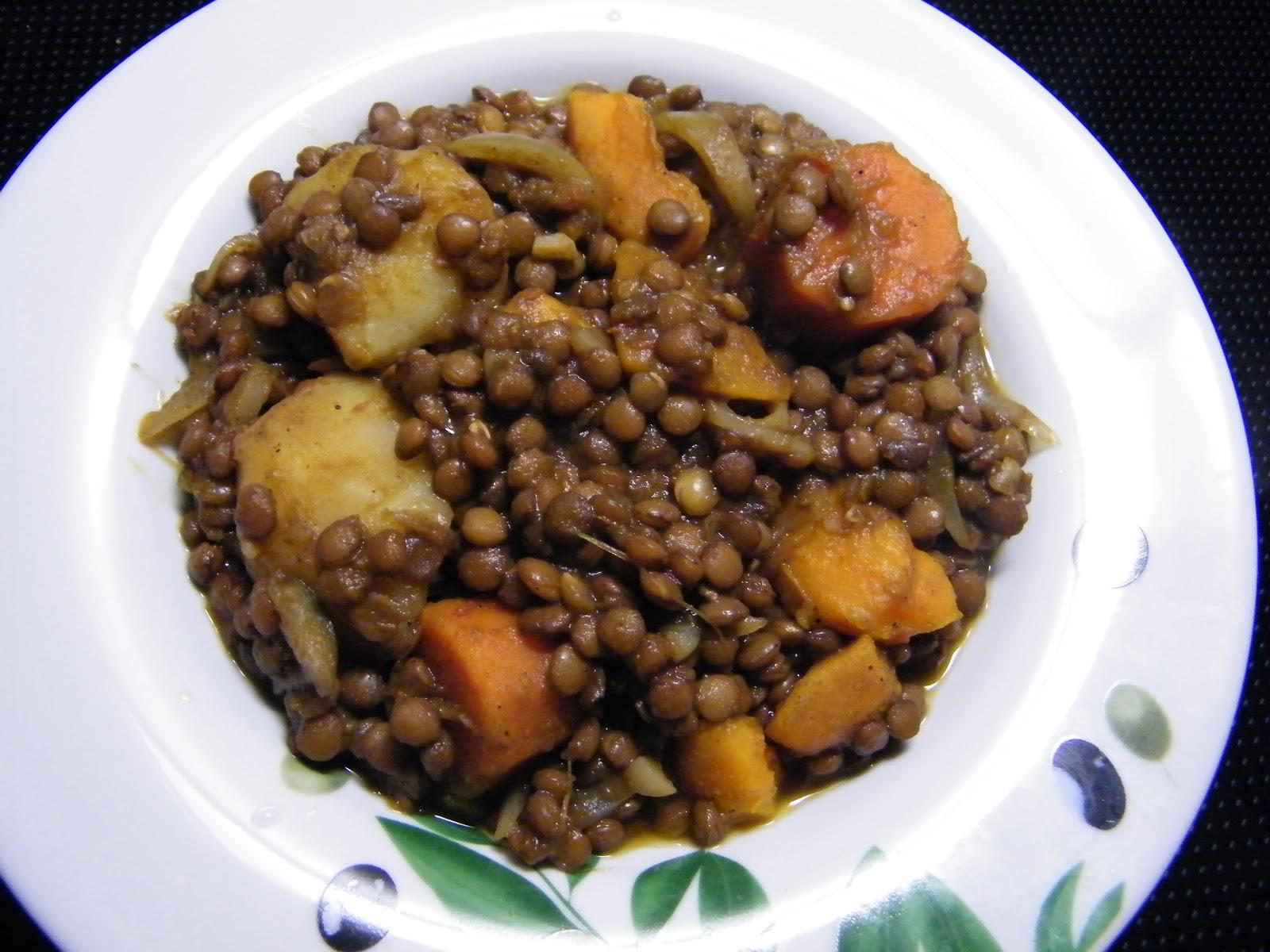 Comer rico y sano: Lentejas morunas - photo#41