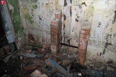 Внутри подземного бункерана базе С-300 в Веселом углу