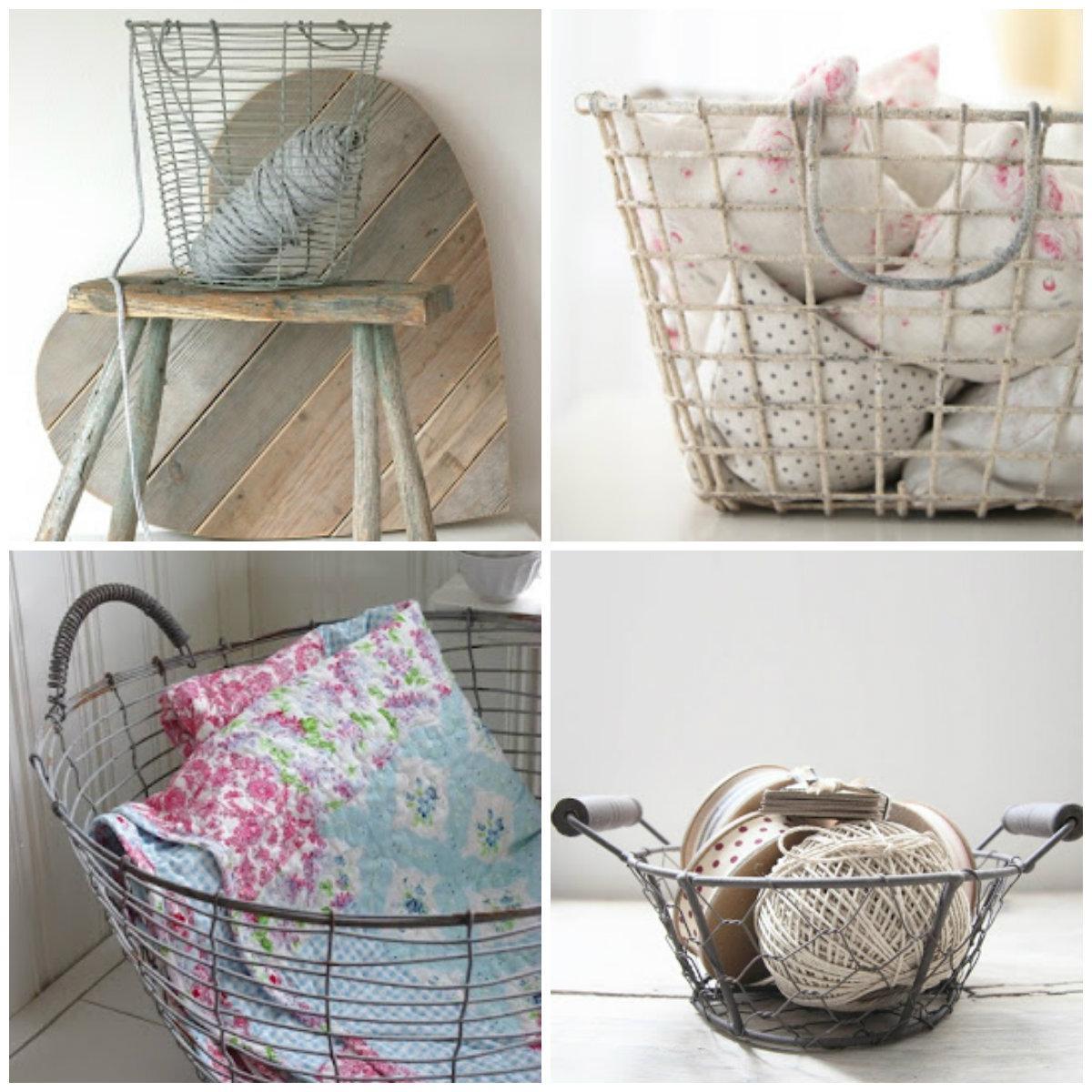 existen cestas de mimbre rattan metal zinc a mi me encantan estas ltimas las cestas de zinc que aportan un toque vintage e industrial a cualquier