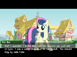 Welcome to Ponyville Act 1 screenshot