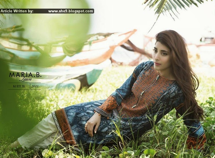 Maria B Lawn 2015 Catalogue-Magazine