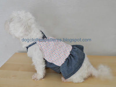 free dog dress sewing patterns