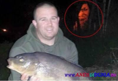 Ada hantu Muncul Di Kolam Pemancingan