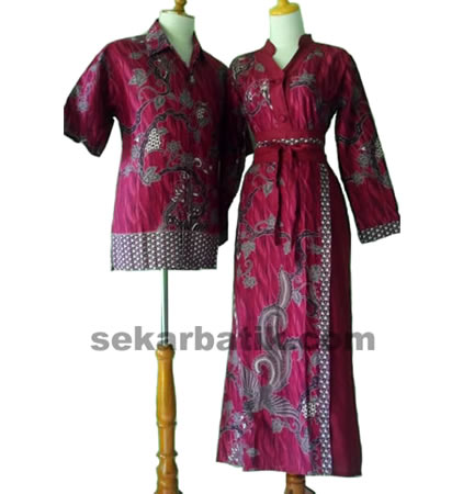 baju batik couple muslim