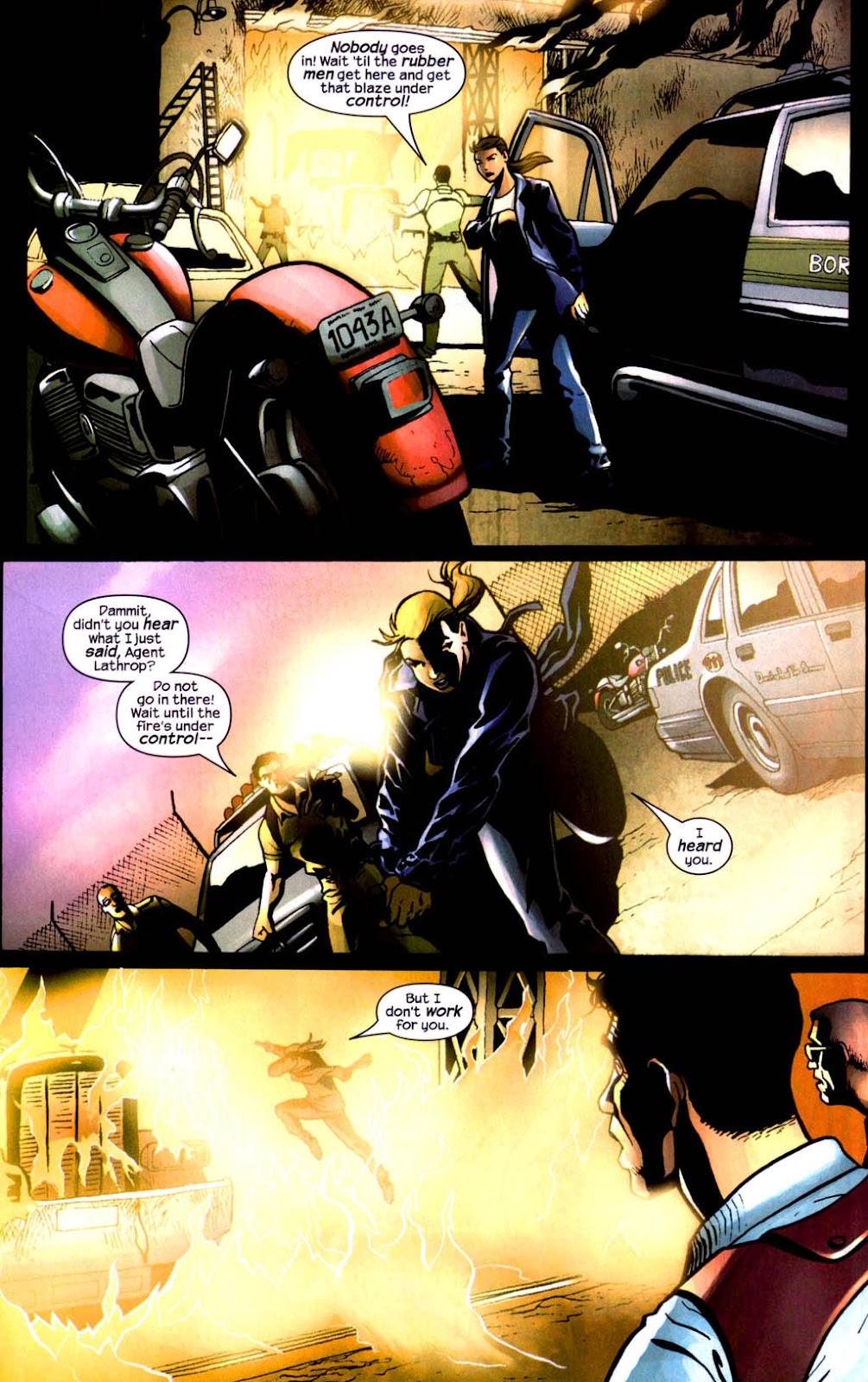 Read online Wolverine (2003) comic -  Issue #8 - 15