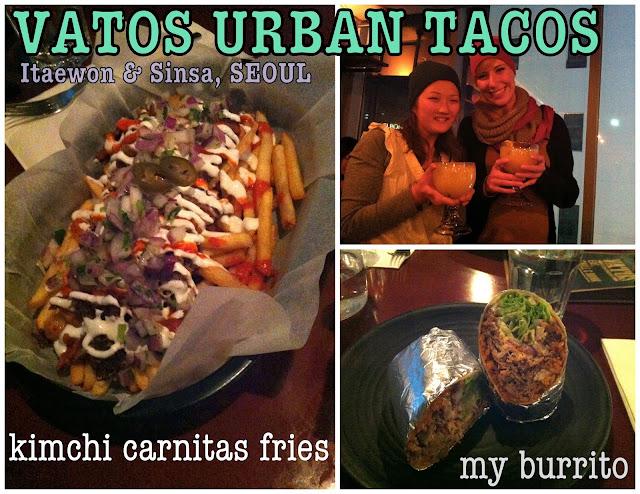 Vatos Urban Tacos Mexican Seoul