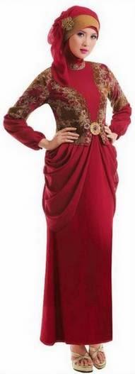 Model baju kebaya muslim wisuda modern