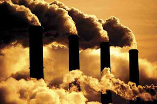 polluting chimneys