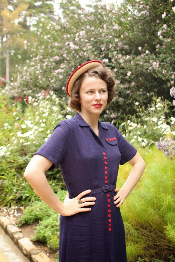 My 1940s Garden Party #1940s #fashion #vintage #style