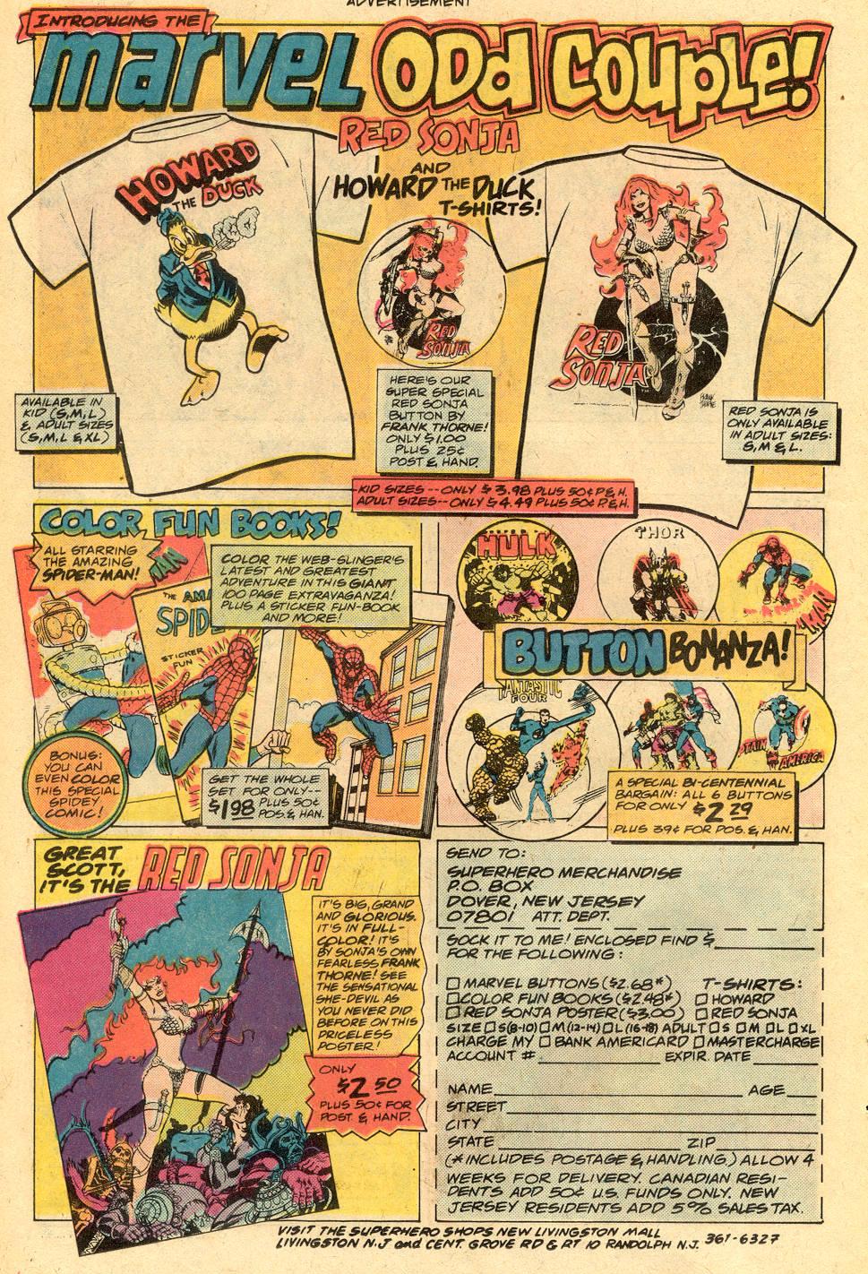Conan the Barbarian (1970) Issue #73 #85 - English 20