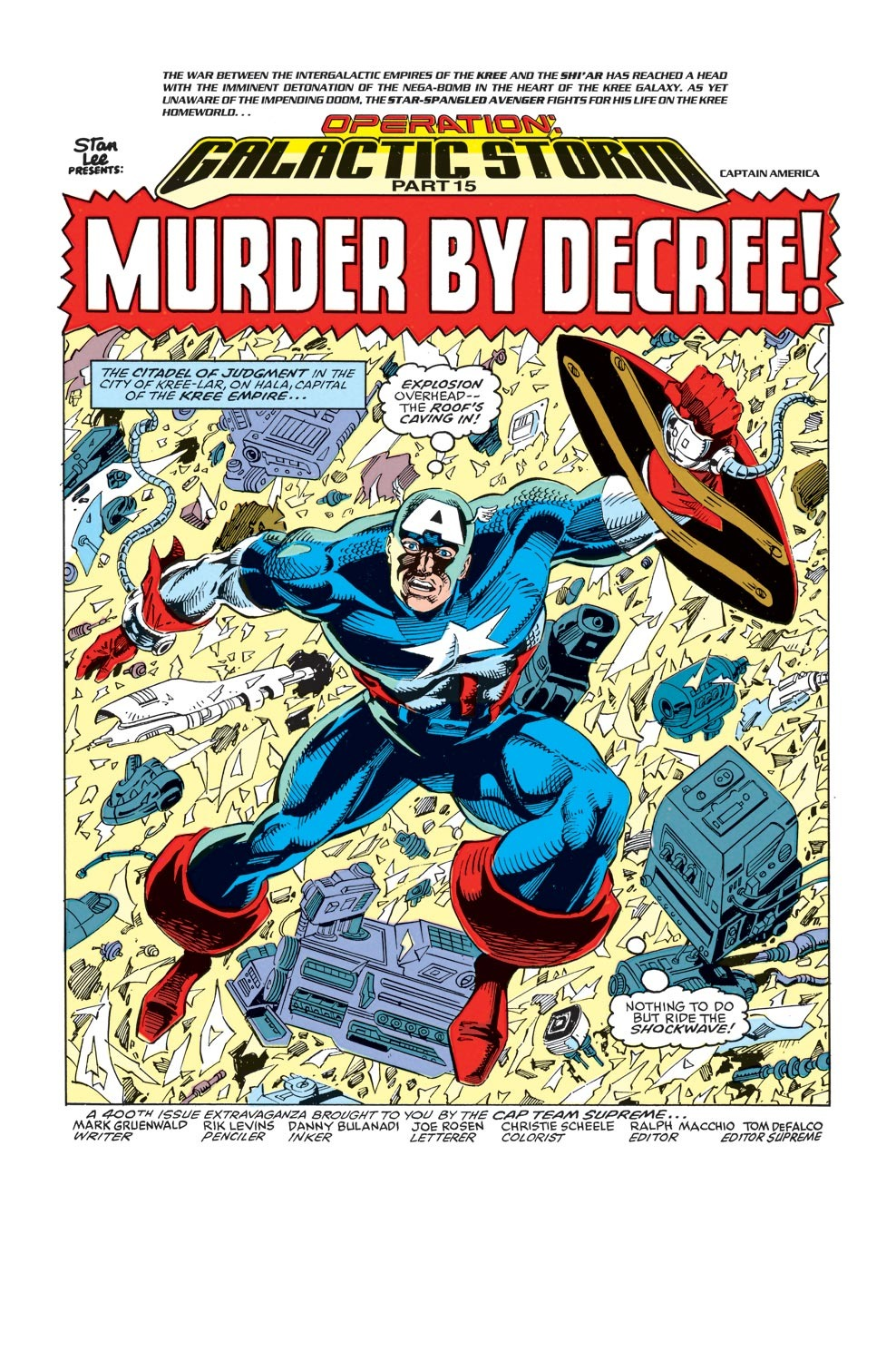 Captain America (1968) Issue #400 #345 - English 2