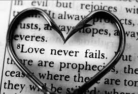 And now these three remain: faith, hope and love. But the greatest of these is love