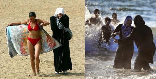 Το μέλλον της Ελλάδας που μας φέρνουν: Μουσουλμάνοι απαιτούν από λουόμενες στο Μαρόκο να μην φορούν μπικίνι