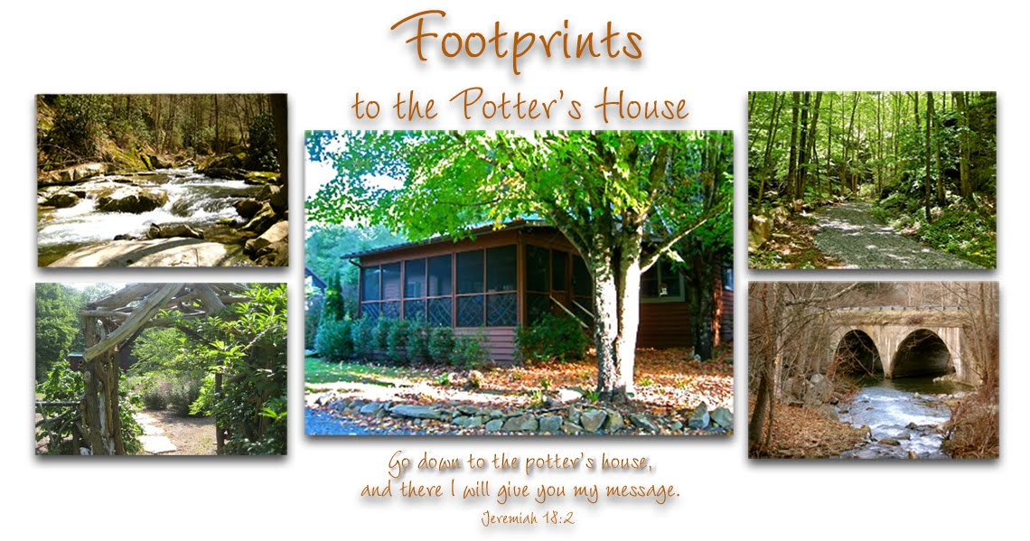Foot Prints to the Potter's House