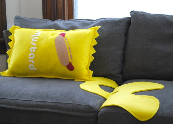 18 decorative pillows and cool pillow designs part 7 for Cool couch pillows