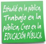 Creo en  la pública