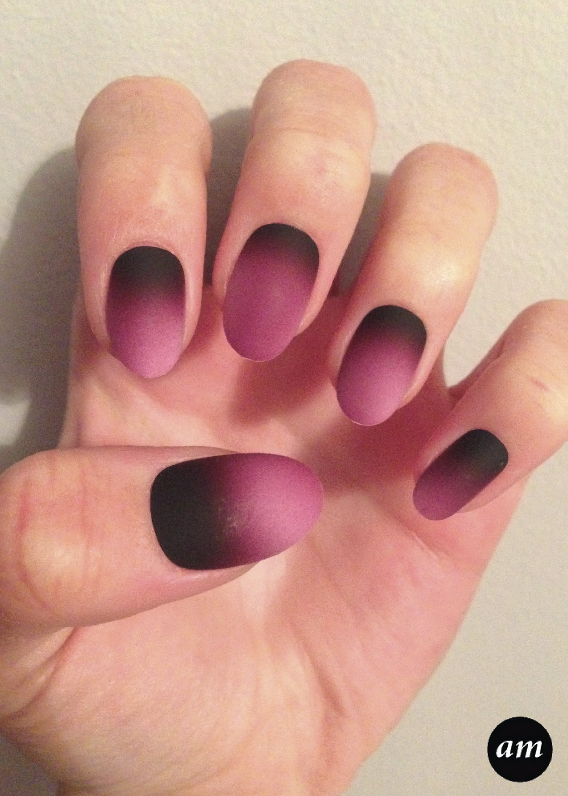 Amber McNiff | Beauty and Fashion Blog: Elegant Touch Merlot Nails ...