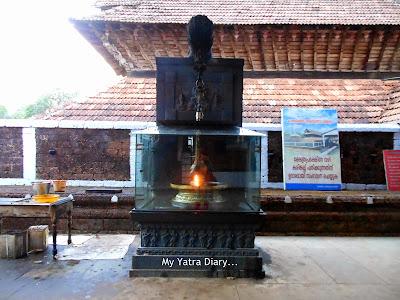 Deepam inside the Vaidyanatha Temple, Kanhirangad - Kannur, Kerala