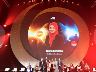 Global Top 15 Oriflame #10 Indonesia Vonita Bermana (Gold Executive Director)