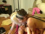 Ninfetas lesbicas na webcam transando