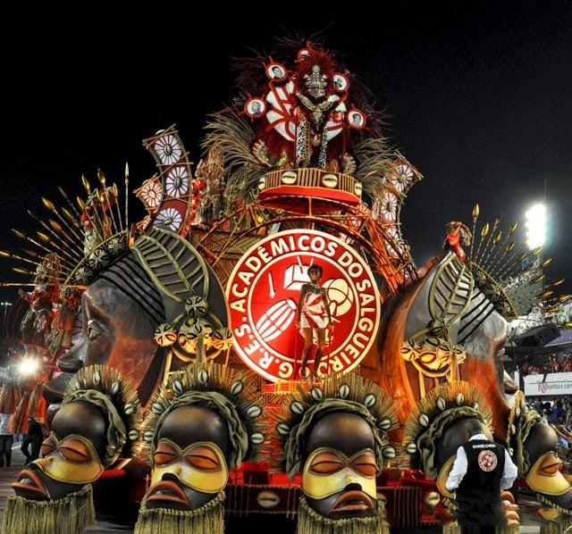 Ensaio Salgueiro desfile de carnaval 2013