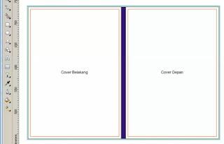 Teknik Dasar membuat desain Cover Buku dengan Corel Draw