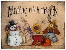 Painting with friends By TERRYE FRENCH