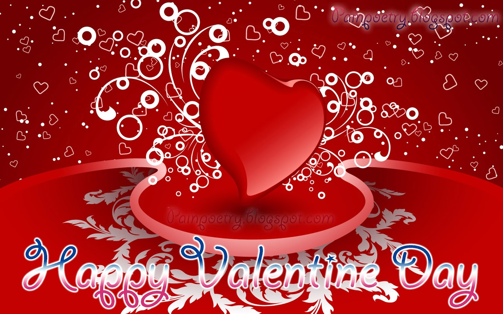 Happy-Walentines-Day-Wishes-Walpaper-With-Heart-Image-HD