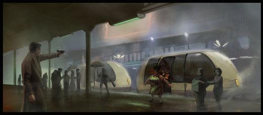 Blade Runner 2 C art por tbtb