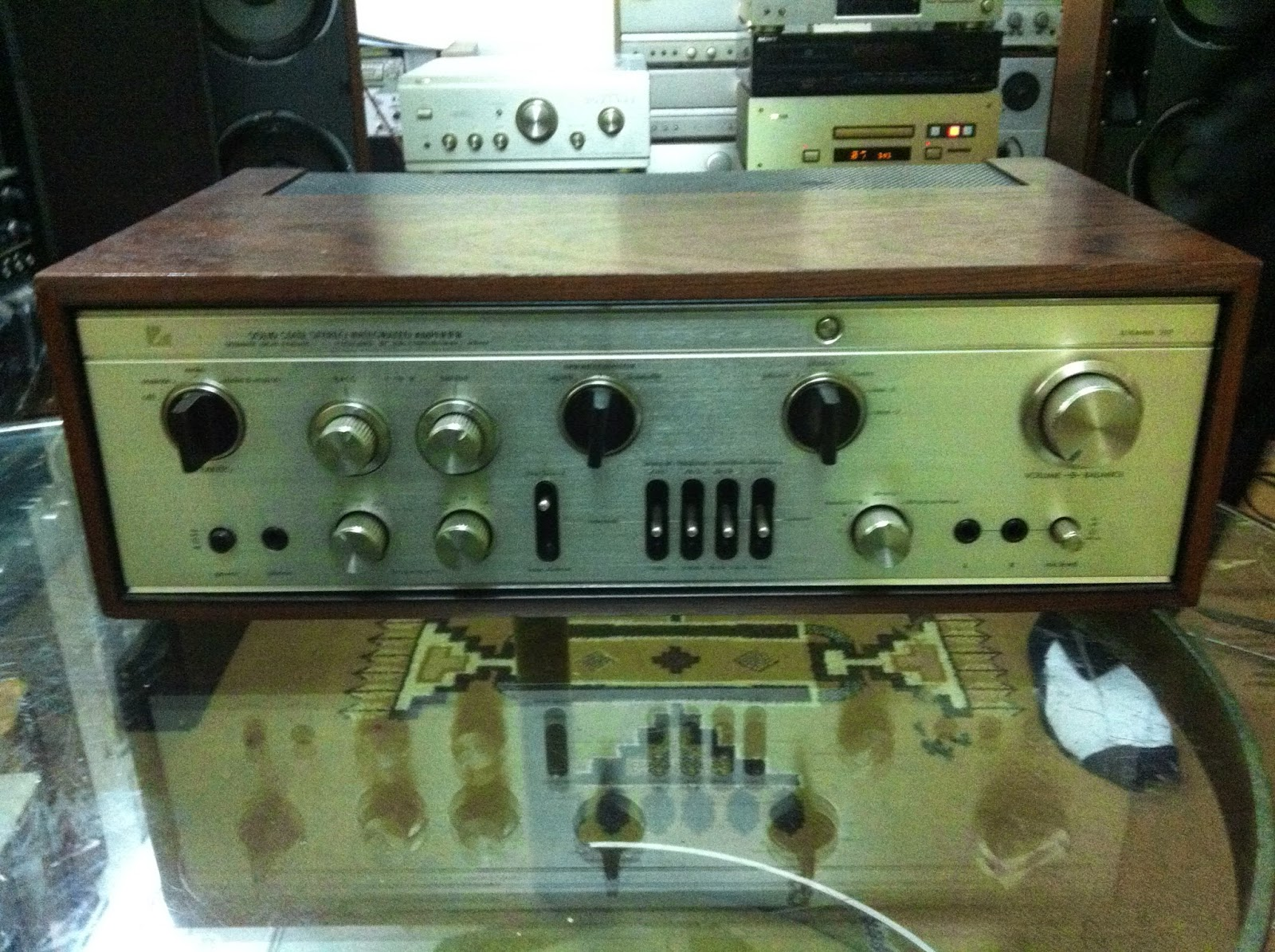 Amply Luxman L309 - Made in Japan